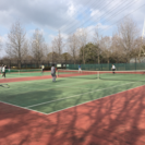 楽しくテニス!