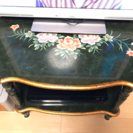 花柄テーブル