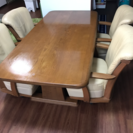 高級ダイニングテーブル&椅子4脚セット