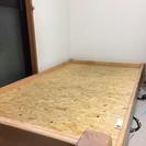 無印良品のパイン材ベッド(シングル)