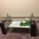【商談中】美品*ガラステーブル
