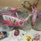 1984年購入 自転車 ディズニー 子ども用 18インチ