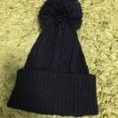 ニット帽 黒