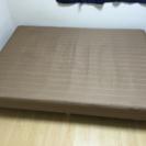 試用期間2年未満ダブルベッド