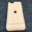 Apple正規品 * 充電器付きiPhoneカバー(6・6s)