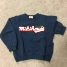 ミキハウス トレーナー 90