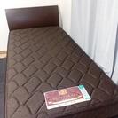 東京ベッド シングルベッド マットレス付き