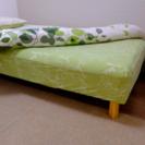 無印良品 シングルベッド 脚付きタイプ