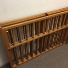 木製ベビーサークル(折りたたみ可能)