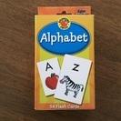 未使用品 アルファベットフラッシュカード 全54枚