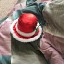 クリスマス用ミニ帽子(ピンで留める)