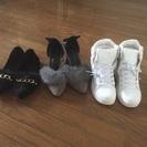 新品の靴。