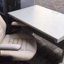 白いオフィステーブル