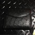 【新品未使用】折りたたみ財布 RODANIA オーストリッチ