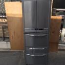 TOSHIBA 457L 6ドア両開き大型冷蔵庫 GR-NF466CF