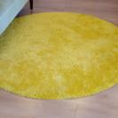 美品 黄色のカーペット