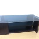 ガラスローテーブル(100×50×34)
