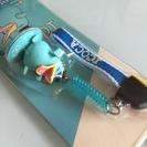 JR西日本 イコちゃん 携帯ストラップ クリーナー付き