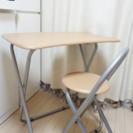学習机と椅子セットで1000円