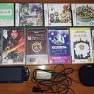 DSソフト×4、PSPソフト×6、PSP本体(ジャンク)
