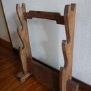刀掛け台(三段)木製