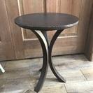 円形サイドテーブル  ¥500