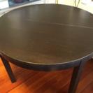 丸テーブル 木製直径115センチ