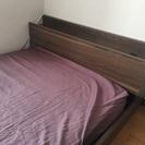 シングルベッド(枠・マットレス・シーツ)譲ります