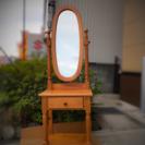 【美品】フランスベッド社 Tica カントリー調ドレッサー