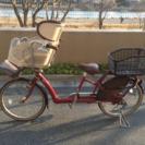 子供のせ自転車譲ります