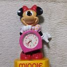 minnieちゃん目覚まし時計