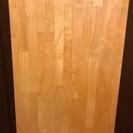 ニトリ製品 白木ローテーブル