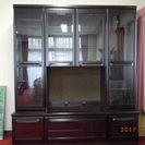 高級 本棚 テレビボード 黒 ブラック 引取限定