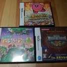 Nintendo DS ソフト3本