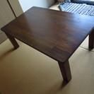 折りたたみテーブル(木製)