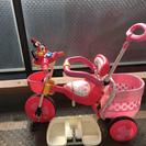 ミニーちゃん三輪車美品