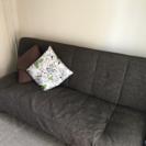 布製ソファーベッド タダで譲ります