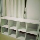 【定価1万円】IKEA シェルフ|おしゃれな白い棚 ☆