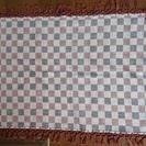 アジアンマット インド インドネシア 幾何学模様 約80cm×60cm