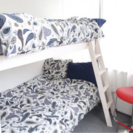 中古48枚  掛け布団カバー・枕カバー IKEA
