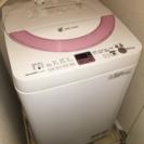 SHARP製 洗濯機 ES-GE60N / 8.0kg / 2013年製