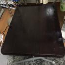 ニトリ 折りたたみコンパクトデスク(フレッタ DBR)