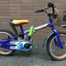 子供用 自転車 16インチ 仮面ライダー鎧武/ガイム 折たたみ式