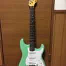 ミントグリーン エレキギター