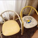 ミッフィー子ども椅子 座るとピー♪中古2個セット【お取り引き中】