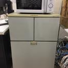 まだまだ現役、小型冷凍冷蔵庫!