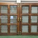 木製アンティーク窓枠
