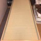 施術用畳ベッドと洋服掛けのセット