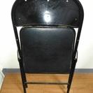 パイプ椅子をお譲りします。