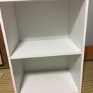 【交渉中】2段ホワイトカラーボックス